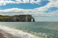 Etretat coastline Stock Photo