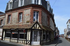 Etretat in Fecamp, France Royalty Free Stock Photo