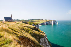 Etretat, France Stock Photography