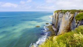 Etretat France Cliffs Royalty Free Stock Image