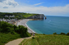 Etretat in France Royalty Free Stock Images