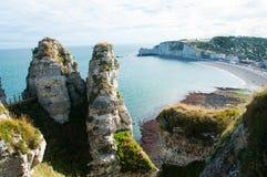 Etretat, Francia imagen de archivo libre de regalías