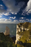 Etretat Haute-Normandie Royalty Free Stock Photography