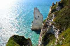 Etretat landscape Stock Photo