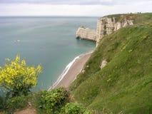 Etretat Normandië, Frankrijk Royalty-vrije Stock Fotografie
