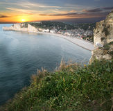 Etretat - Normandie - France Royalty Free Stock Photo