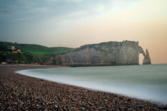 Etretat - Normandie - France Royalty Free Stock Image