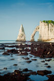 Etretat - Normandie - France Royalty Free Stock Images