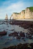 Etretat - Normandie - Francia Fotos de archivo libres de regalías