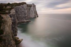 Etretat, Normandie, Frankreich stockfotos