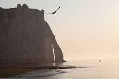 Etretat, Normandie, Frankreich Lizenzfreies Stockfoto