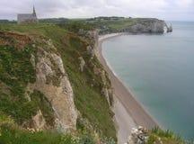 Etretat Normandie, Frankrike Royaltyfri Fotografi