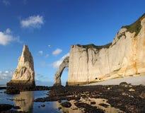 Etretat - Normandie - la France Photographie stock