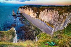 Etretat, Normandy Royalty Free Stock Image