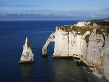 Etretat, Normandy Stock Photography