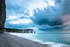 Etretat before the rain