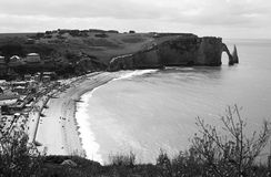 Etretat Stock Photo
