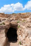 Etri ruins near Beit Shemesh Royalty Free Stock Photo