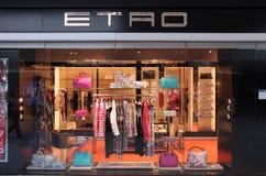 Etro fashion store Stock Images