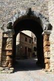 etruscan的曲拱 免版税库存图片