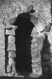 etruscan的曲拱 免版税库存照片