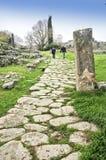 etruscan ścieżka fotografia stock
