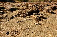 etruscan καταστροφές της Ιταλία& στοκ εικόνα
