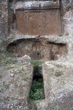 etruscan внешняя усыпальница стоковые изображения rf