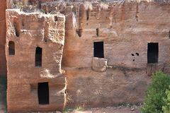 Etruscan некрополь в итальянке Populonia Стоковые Изображения RF