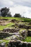 Etruscan archaeological site in Volterra Royalty Free Stock Photo