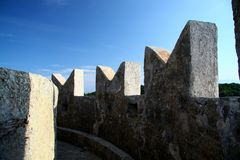 etruscan fästning Royaltyfri Fotografi