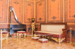 Etruscan hall at the Sheremetyev Palace stock image
