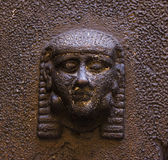 Etruscan head Stock Photo