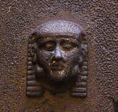 etruscan huvud Arkivfoto