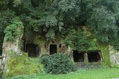 Etruscan Necropolis Of Sutri Stock Image