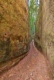 Etruscan par l'intermédiaire de cave dans Pitigliano, Toscane, Italie Images stock