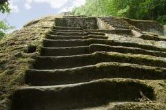Etruscan pyramid Stock Photo