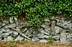 Etruscan-Wand in der Verwirrung Stockbild