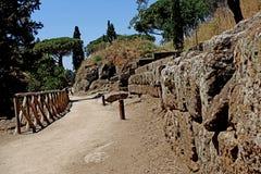 Etruski necropolis Cerveteri Obraz Stock