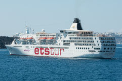 Ets Tour cruise ship Stock Images