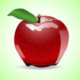 Ett äpple Royaltyfria Foton