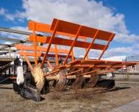 Ett återställt skovelhjul på carcross Royaltyfri Fotografi