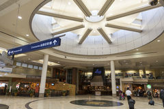Ett öppet område av den Minneapolis flygplatsen i Minnesota på Juli 02, 201 Royaltyfri Bild