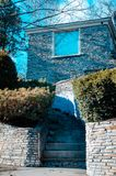 Ett annat hus för greveYoung champinjon i Charlevoix Michigan Royaltyfri Fotografi