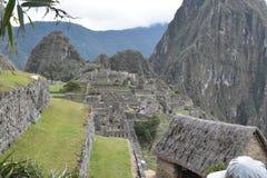 Ett annat perspektiv om Machu Picchu royaltyfri foto