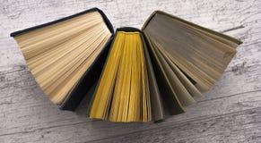Ett antal böcker Royaltyfria Bilder