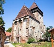 Ett av många gammala Transylvania slott, Rumänien Arkivfoton