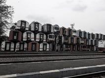 Ett av museerna för järnvägtrans. i Indonesien är gammalt fotografering för bildbyråer