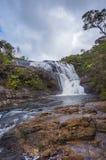 Ett avsnitt av bagare faller på Horton Plains National Park i Sri Lanka Horton Plains National Park är ett skyddat område i cen Fotografering för Bildbyråer