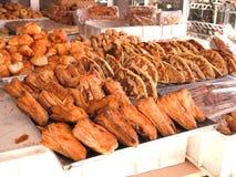 Ett bageri som lokaliseras på Tunisien Royaltyfri Fotografi